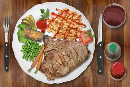Steakmesser, dass richtige Besteck für ein Steak